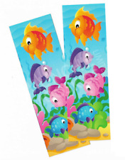 Pack of 12 - Under The Sea Bookmarks - Teacher Reading Supplies Party Bag Filler