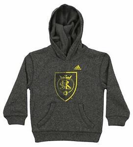 Adidas MLS Kids Real Salt Lake Split Up Ultimate Hoodie, Grey