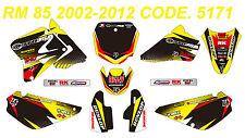 5171 SUZUKI RM 85 2002-2012 Autocollants Déco Graphic Sticker Decal