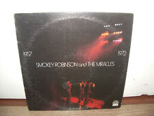 Smokey Robinson And The Miracles - 1957 1972 Tamla - T 320D 1972 US 2xLP SOUL