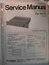 Service Manual Original Vintage TECHNICS Pre-Amplifier  Model SU-9070  Canada