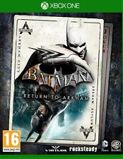 BATMAN RETURN TO ARKHAM  XBOX ONE CASTELLANO ESPAÑOL CITY ASYLUM NUEVO SELLADO