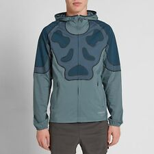 New Mens NikeLab Gyakusou Undercover Running Jacket 811218-300 Hasta Black Sz S