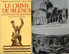 1984 Le Crime de Silence: Armeniens Genocide Turkey Armenia Armenian FRENCH BOOK