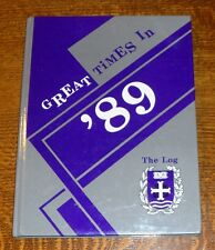 1989 Yearbook Annual UNIVERSITY OF PORTLAND OR Oregon Ore THE LOG
