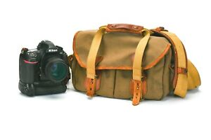 Billingham camera bag with two lens inserts
