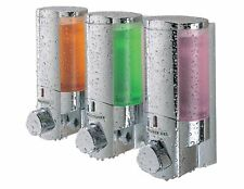 Bathroom Shower 3 Chamber Liquid Soap Dispenser Pump Shampoo Conditioner Wall