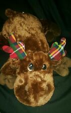 Dan Dee Giant Reindeer Christmas Plush  24 Inches Long DanDee Collectors Choice