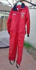VINTAGE - ALOUETTE - SNOWMOBILE SUIT - RED - SIZE MEDIUM M - FREE SHIPPING