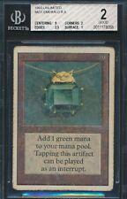 Unlimited Mox Emerald BGS 2 Graded Magic MTG (8058) -magicgraders-