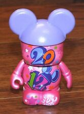 Disney Parks Vinylmation Mickey Mouse Dated Series 2012 Pink By Maria Clapsis!