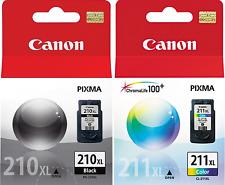 New Genuine Canon PG-210XL CL-211XL 2PK Ink Cartridges PIXMA iP2700 PIXMA iP2702