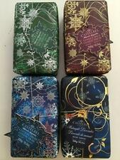 4 Lot Castelbel Scented Holiday Bar Soap Pine Vanilla Cotton Lavender Gift