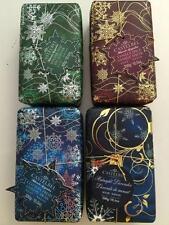4 Lot Castelbel Scented Holiday Bar Soap Pine Vanilla Cotton Lavender Gift