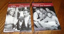 BRAND NEW George Burns & Gracie Allen Show + Ozzie & Harriet ~ 8 episodes total