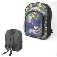 Official Batman And Joker Boys Junior Backpack Rucksack School Bag New