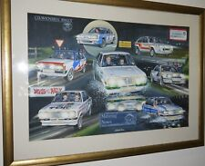 Motoring News Road Rally Compilation Rallyart Print mk2 escort ford manta