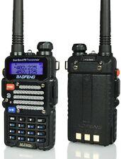 Baofeng Black BF-F9 V2+ TRI-POWER 8 Watts Two Way Dual-Band HAM Radio VHF/UHF FM