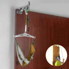 Over Door Hanging Neck Cervical Traction Device Stretch Gear Brace Complete Set