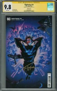 NIGHTWING #79 VARIANT COVER CGC 9.8 SIGNED BY TOM TAYLOR