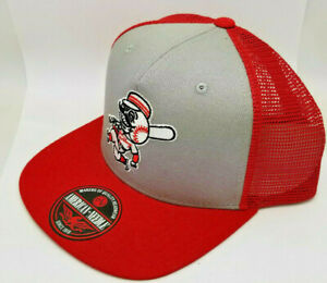 "Cincinnati Reds HAT ""GATEKEEPER"" Adult Adjustable Mesh Back Hat"