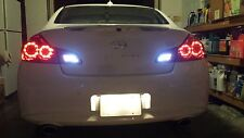 White LED Reverse Lights/Back Up For Infiniti M37 2011-2013 2012