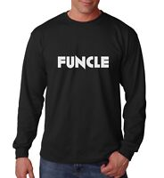 Long Sleeve Funcle T Shirt Funny Awesome Uncle Gift T-Shirt Christmas Birthday