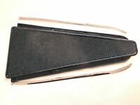 VESPA BLACK CENTRE FLOOR RUBBER MAT WITH TRIMS FROM SPRINT SUPER RALLY VB