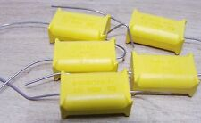 4 x Phillips 470nf 275vac X2 vintage axial lead 2222-330-90001 MKT-P 474 0.47uf