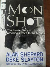 """Signed 1st Edition """"Moon Shot"""" by Astronaut Alan Shepard Autographed Book"""