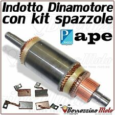 KIT SPAZZOLE BX 188 INDOTTO DINAMOTORE APE TM 703 MP 601 500