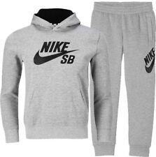 Nike air max tracksuit bottoms Black size JUNIOR Depop