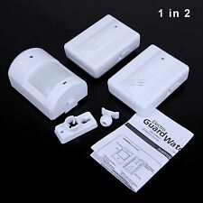 1IN2 Driveway Patrol Wireless Motion Sensor Detector Alarm Alert Secure System