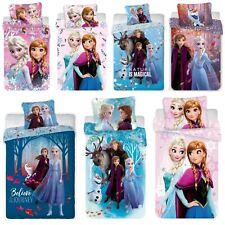 Frozen 2 Anna Elsa Olaf Kinder Bettwäsche Set 135 140 x 200 cm oder 100x135 cm
