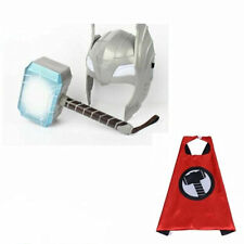 Sounds Hammer LED Mask And LED Glowing For Thor Action Figures Kids Cosplay Toys