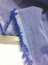 Top Quality Soft L/Weight Light Blue Chambray Denim Dress/Craft/Shirt*FREE P&P*