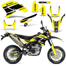 Yamaha WR250R WR250X Graphics Kit Dirt Bike Decal Wrap 2007-2016 HURR YELLOW