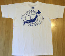 NOS Vintage 2000 All Japan Pro Wrestling t shirt L wrestling 90s puroresu NJPW
