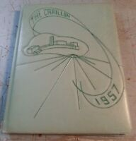 Vintage 1957 The Carillon Shenendehowa Elnora, NY Central High School Yearbook