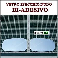 VETRO SPECCHIO RETROVISORE NUDO ADESIVO LATO DX SAAB 9.3 dal 2002-2007