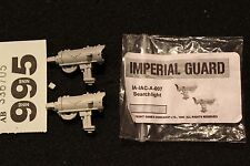 Games Workshop WARHAMMER 40k FORGEWORLD GUARDIE IMPERIALI Searchlight Bit wh40k