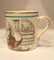 Petite Les noces de Jeannette Opera Ceramic Cup Made in England PV Stamp Small