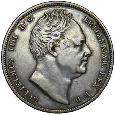 More details for 1836 halfcrown - william iv british silver coin - nice