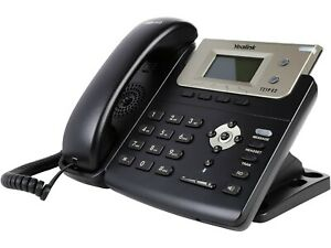 Yealink SIP-T21P E2 Entry Level VoIP Phone - Brand New (Open Box) Free Shipping