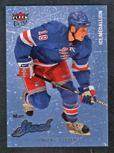 2008-09 Fleer Ultra Ice Medallion #57 Marc Staal #/100 New York Rangers