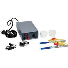 Gold plating kit including 24k solution, power supply, 2 brush pens.