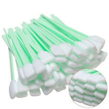 50Pcs Foam Tipped Solvent Cleaning Swab For Inkjet Printer Swabs Camera Lens #OP