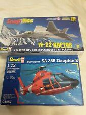 Revell model kits air craft Lot