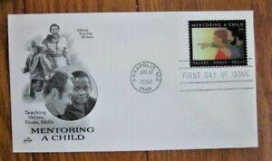 MENTORING A CHILD   2002  ARTCRAFT CACHET FDC VF UNADDR