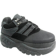 Ladies Womens High Wegde Platform Trainers Boots Shoes Lace Up Size Chunky Sole